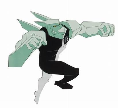 Diamondhead Ben Alien Fandom Ben10 Pose Ten