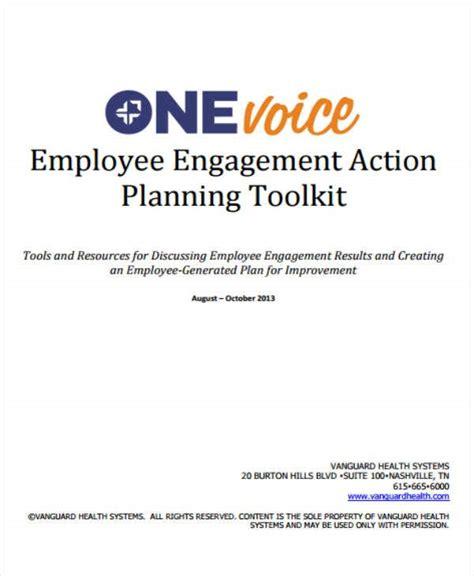 employee action plan templates   premium
