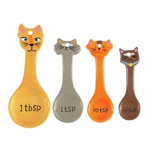 cat measuring cups cat measuring spoons 10 measuring cups and spoons for
