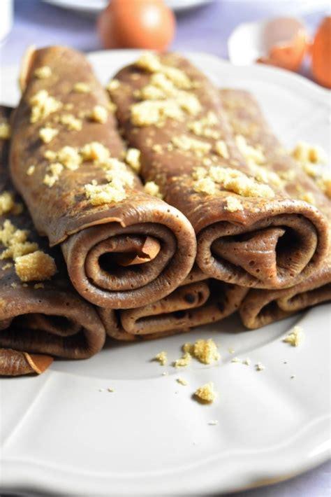 crepes au chocolat recette pour le gouter