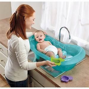 Fisher Price Baby Bath Tub Ocean Blue Target
