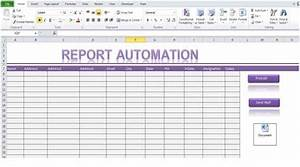 report automation template using excel macro With excel templates with macros