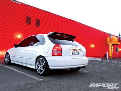 1998 Honda Civic Ek  B18c Engine  Import Tuner Magazine