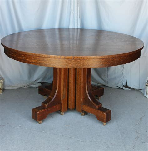 round dining table for 4 bargain john 39 s antiques blog archive mission style round