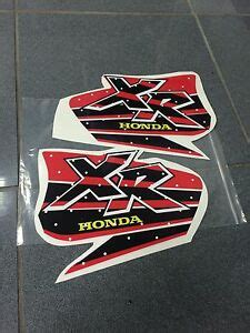 honda xr 600 400 xr200 xr250 xr400 xr600 fuel graphics decals stickers gas tank ebay