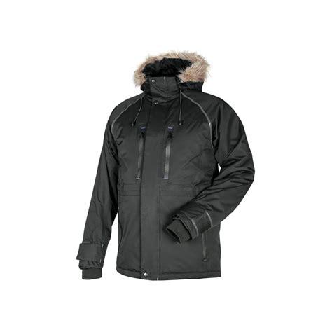 Vinterjakke Hikingo Cannygo svart/blå - Proklær