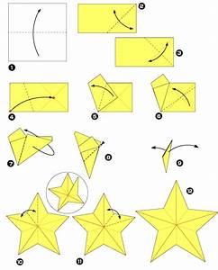 Origami Fleur Coeur D étoile : origami pour les f tes l 39 toile cinq branches ~ Melissatoandfro.com Idées de Décoration
