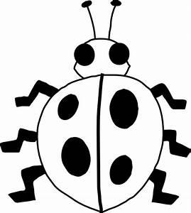 Ladybug Clipart Black And White | Clipart Panda - Free ...