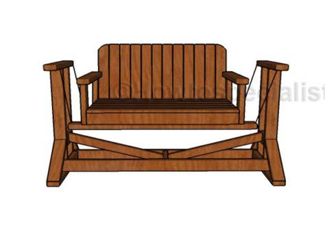 glider bench plans howtospecialist   build step