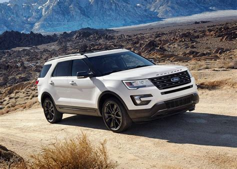 ford explorer     expect  ford suv