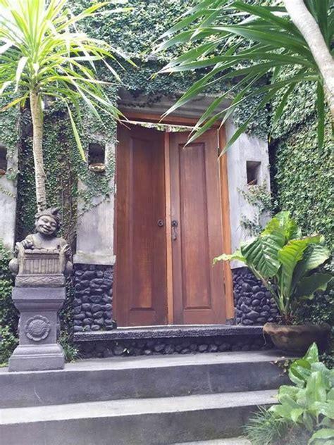 bali entrance   rumah desain rumah  pintu