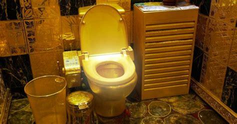 papier toilette en or un bol de toilette en or massif pour le pdg de bombardier