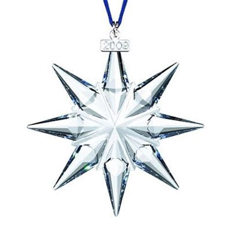 2007 swarovski crystal christmas snowflake star annual ornament swarovski ornaments stunning collectibles