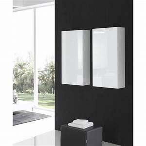 Demi Colonne Salle De Bain : meubles suspendus salle de bain mobilier suspendre ~ Premium-room.com Idées de Décoration