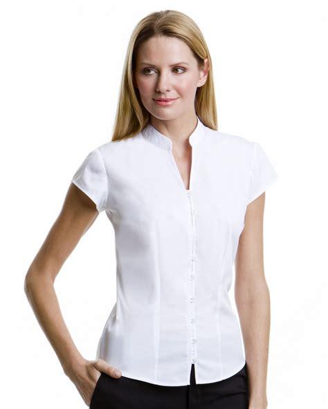 mandarin collar blouse kustom kit kk727 mandarin collar blouse