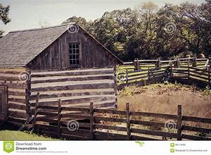 barn with fences stock photo image 66113085 With barn style fence