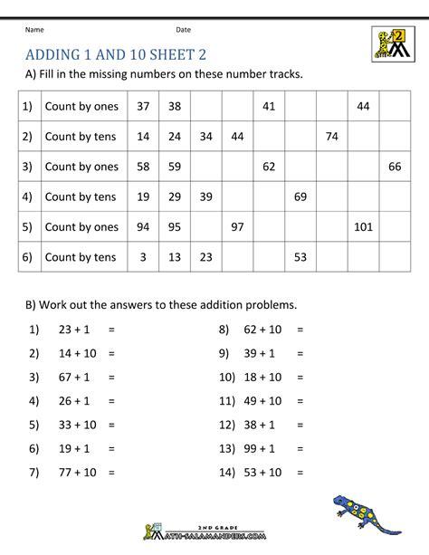 grade addition worksheets