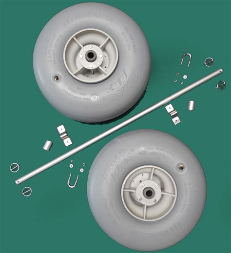 Boat Trailer Balloon Tires by Wheel Axle Kits Beachwheels Australia