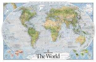National Geographic World Map