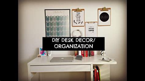 cute cheap  easy diy desk decor organization youtube