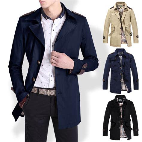 2015 Menu0026#39;s fashion casual slim jackets coats mens spring ...