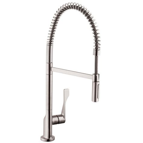 articulated kitchen faucet hansgrohe bronze pull faucet bronze hansgrohe pull