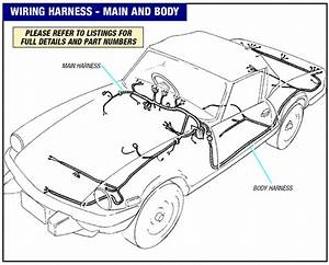 Main Body Wiring Harness Triumph Spitfire