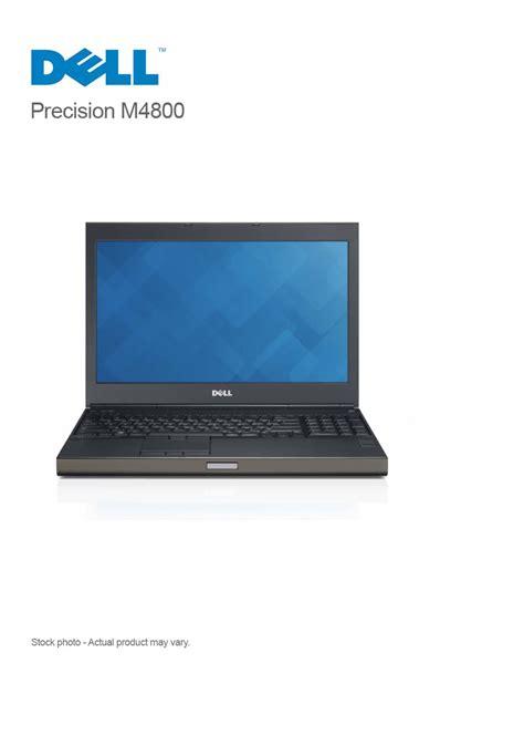 Dell Precision M4800 Mobile Workstation by Dell Precision M4800 I7 4910mq 16gb 320gb 15 6 Win