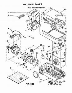 116 20712007 Kenmore Canister Vacuum Cleaner Manual