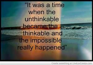 Unthinkable Inspiering Quotes. QuotesGram