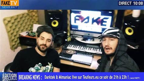 Breaking News #1 (darktek Vs Mimaniac Live Stream