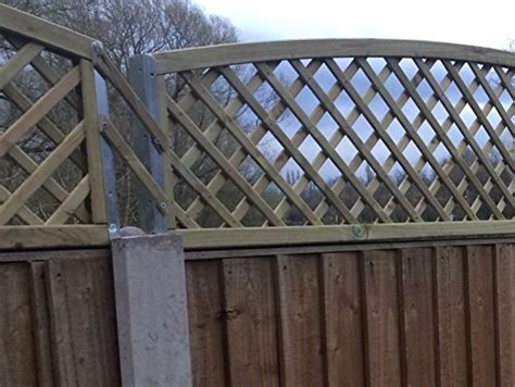 Trellis Fence Extension by Postfix Trellis Fence Height Extension Arms Value Pack Of