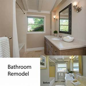 before after big impact on space style dana green With update bathroom without remodeling