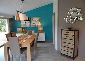 Peinture salle a manger 2018 avec couleur peinture salon for Meuble salle À manger avec chaise couleur salle a manger