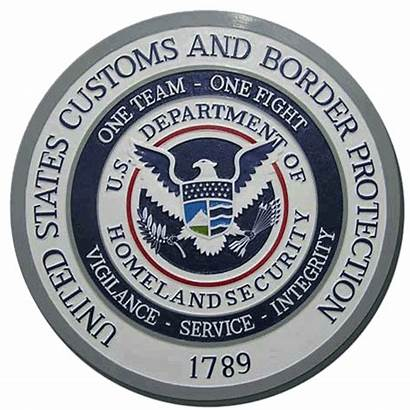 Border Customs Seal Protection Cbp Seals Navy