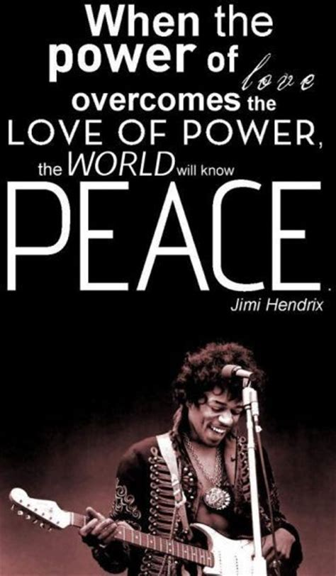 Jimi Quotes 50 Jimi Quotes On Peace And