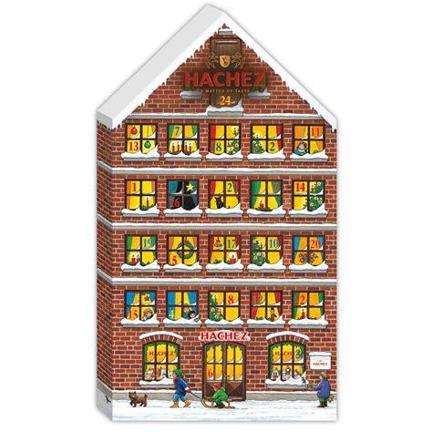 Hachez Adventskalender Haus  Online Kaufen Im World Of