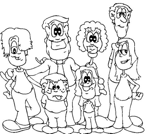 family coloring pages bestofcoloringcom