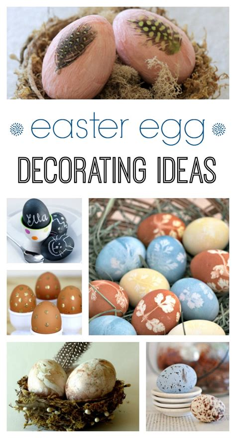 Decorating Ideas For Easter Eggs by 11 Easter Egg Decorating Ideas Town Country Living