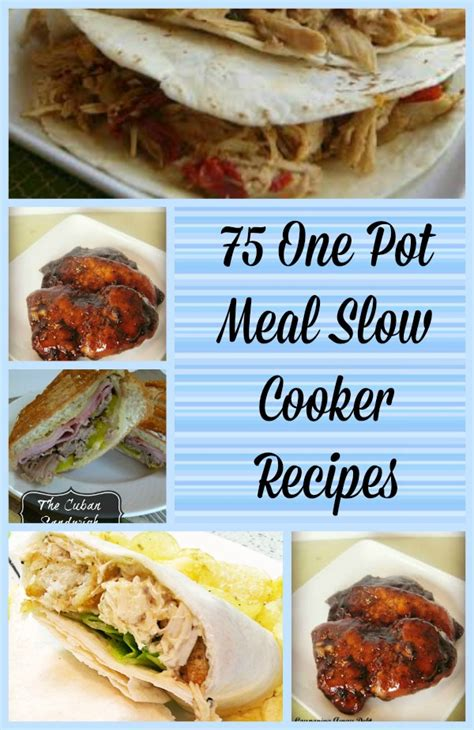 one pot oven meals 75 one pot meal slow cooker recipes budget earth