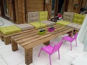 Salon De Jardin Palettes : salon de jardin en palettes pallet pinterest palette ~ Farleysfitness.com Idées de Décoration