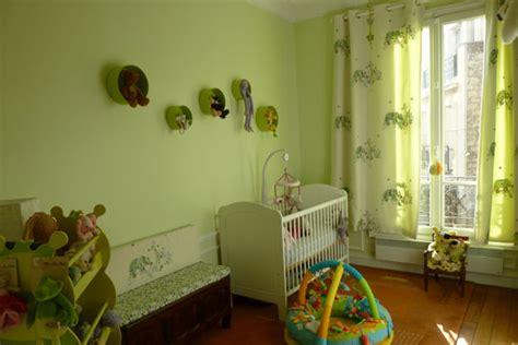 chambre verte et blanche idee deco chambre fille et vert paihhi com