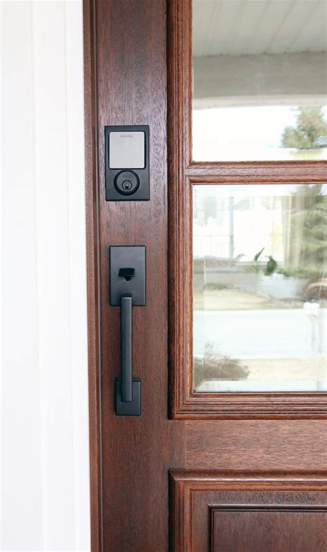 Sneak Peek At The New Front Door + Schlage Giveaway