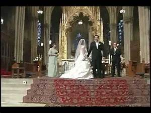 Salerno Wedding at St. Patrick's Cathedral, New York - YouTube