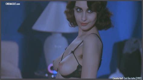 Hot italian actress Claudia Koll nude from a movie - Pichunter