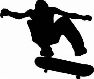 Skater   Clipart & Symbols   Pinterest   Skateboard and ...