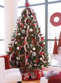 tree ideas lovely ribbon effect 2015 tree decorating ideas 2015
