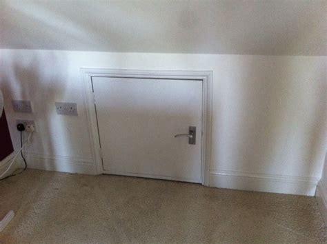 openingimproving loft eaves cupboard  add storage