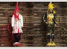 Ai Weiwei Pours Paint Over Designer Clothes For Magazine V