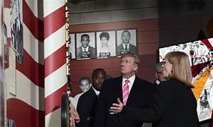 Some boycott as Trump pays tribute at civil rights museum ...